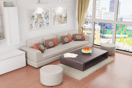đóng ghế sofa cho căn hộ