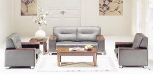 bọc bàn ghế sofa cho phòng làm việc