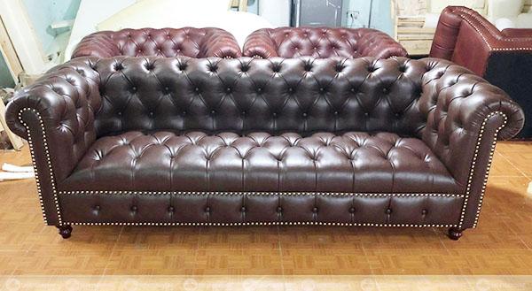 chuyên bọc ghế sofa da cổ điển