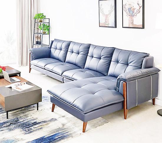 sofa chữ L phòng khách