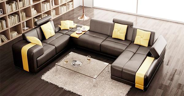 sofa góc chữ U tại TPHCM