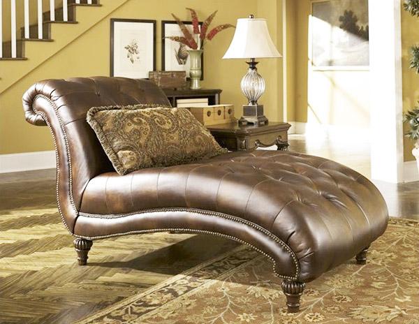 sofa thư giãn da cổ điển