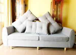bọc ghế sofa đôi theo yêu cầu của khách hàng