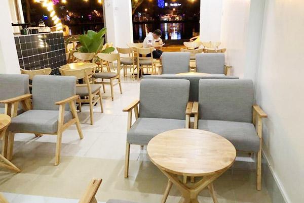 bọc nệm sofa cafe