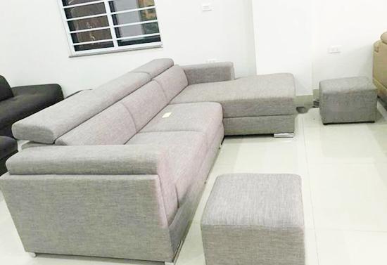 bọc sofa vải bố có ưu điểm gì