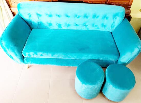 vệ sinh ghế sofa vải nhung