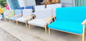 ghế sofa cafe đôi màu sắc đẹp chất lượng tốt