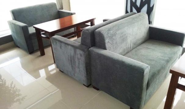 ghế sofa cafe đôi