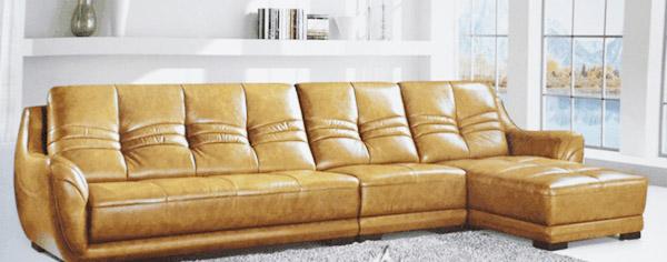 sofa da bò cao cấp chất lượng bọc theo yêu cầu