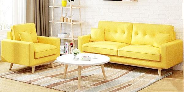 bộ sofa màu vàng được ưa chuộng