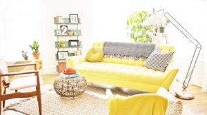 những bộ sofa màu vàng được ưa chuộng